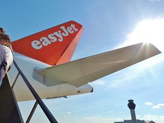 EasyJet Airbus A320-214 G-EZWB tail, Manchester Airport, 9 July 2014 (Ross Kennedy) Tags: new england sky man southwest west tower english tarmac airplane manchester concrete fly high airport wings holidays europe european northwest britain good euro aircraft altitude aviation air south jets flight eu fast cockpit aeroporto terminal aeroplane landing deck international level airline planes airbus passenger arrival popular departure propeller takeoff runway flights carrier freight mounds flightdeck airliner intl turboprop easyjet airfield aerodrome winglets fuselage jetliner ringway planespotting egcc turbojet tailplane a320200 turbofan ezy iata icao