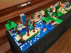 Shellharbour Fete Minecraft SydLUG build (I Scream Clone) Tags: lego minecraft activity build sydlug