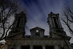 The Survivor (95wombat) Tags: cold windy night dark church london