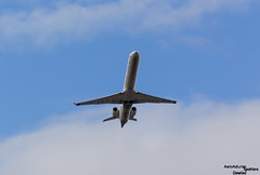 Despegue pista 14 R (Dawlad Ast) Tags: aeropuerto internacional adolfo suarez madrid barajas international airport lemd espaa spain octubre 2016 avion plane airplane canadair crj1000 air nostrum eclkf sn 19011 crk 1000 crj despegue take off