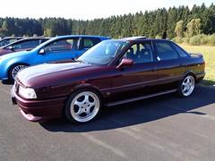 Audi 80 (911gt2rs) Tags: treffen meeting show event tuning tief stance typ 89 b3 bodykit rot red rh wheels felgen