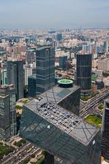 CCTV Roof (China Chas) Tags: 1022mm 2016 arup beijing cbd china chinazun z15 zhongguozun skyscraper tower cctv