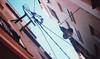 Streets of Lloret de Mar (JonnyLoMo) Tags: cosmic symbol expired kodal colour plus lloret de mar barcelona spain