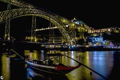 Porto encendida (II) (carmen.fdez.mtnez) Tags: porto oporto portugal fotografanocturna