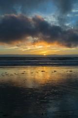 October sunset (borders92109) Tags: sanelijo cardiffstatebeach cardiff california sandiego sunset ocean beach sunstar