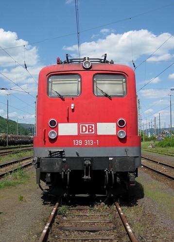 DB 139 313-1 Trier-Ehrang Rbf