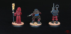 Inquisition (The Ninth Host) Tags: inquisition warhammer40000 gamesworkshop miniatures w40k