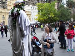 sincerity (Shan'Gai Photography) Tags: estatua decisive streetphotography oldwoman santiago chile plazadearmas