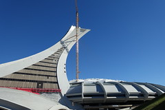 Tour de Montral @ Olympic Stadium @ Montral (*_*) Tags: montreal mtl canada quebec northamerica 2016 autumn fall automne october city sunny hochelaga maisonneuve afternoon olympic stadium stade olympique tower tourdemontreal inclined rogertaillibert architecture
