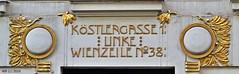 DSC_0045n wb (bwagnerfoto) Tags: wien sterreich architecture outdoor building vienna bcs austria gold white art nouveau secession jugendstil symmetry