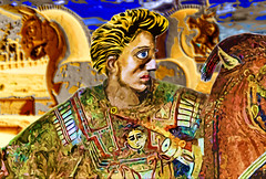 Alexander in Persepolis (Explored) (mehr-zad) Tags: alexanderthegreat greece kingofgreece persia iran persepolis achaemenids