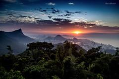 Sunrise in Rio de Janeiro (mariohowat) Tags: sunrise riodejaneiro natureza amanhecer brasil brazil mirantesdoriodejaneiro mirantedavistachinesa vistachinesa