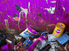 Trash... (@oloarge) Tags: trash spazzatura colore color