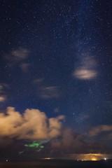 distant aurora (KClarkPhotography) Tags: scotland kclarkphotography travel photography aurora green glow dramatic milkyway starry sky