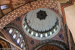 Circles and curves (thierry_meunier) Tags: istanbul turkey turquie architecture cercles circles courbes curves graphic graphique mosaic mosaique mosque mosque murs travel voyage