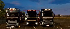 Dakar Logistic (AMF/ire256) Tags: admin truckersmp volvo renault premium fh4 multiplayer ets2 dakar logistic
