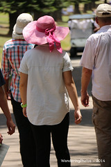 Girl with the pink floppy hat - Botanical Gardens Kandy Sri Lanka (WanderingPJB) Tags: srilanka kandy botanicalgarden hat pink floppy colour cmwdpink 7dwf crazytuesdaytheme headwear colourfulworld smileonsaturday hatsandco