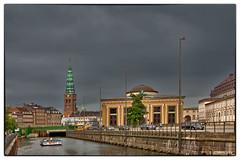 Copenhagen-020 (John@photosuite) Tags: copenhagen denmark capital city coast islands zealand amager landscape malmo sweden oresundbridge clouds storm water bridge nikon