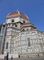 2016.09.12.031 FLORENCE - Le Duomo, le chevet (alainmichot93 (Bonjour  tous)) Tags: 2016 italie italia toscane florence firenze architecture cathdrale duomo santamariadelfiore