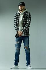 IMG_0838 (sabrinafvholder) Tags: man male hat hipster studio portrait young givenchy sabrinavazholder