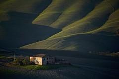 Tuscan countryside (Antonio Cinotti ) Tags: landscape paesaggio toscana tuscany italy italia siena hills colline campagnatoscana cretesenesi asciano nikond7100 nikon d7100 rollinghills nikon18300 autumn fall