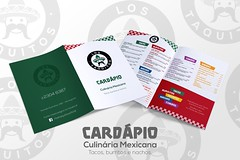 arte cardápio ((keevb)) Tags: los taquitos culinária mexicana arte photoshop folder cartão visita facebook cardápio kvlyn