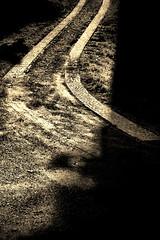 way up (camerito) Tags: way weg pflastersteine road stone cobbles cobblestone bw black white sepia camerito nikon1 j4 austria sterreich flickr