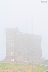 Disapearing (le Brooklands) Tags: brouillard brum cabottower d7000 fog foggy newfoundlandlabrador sigma70200mm signalhill stjohns