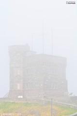 Disapearing (le Brooklands) Tags: brouillard brum cabottower d7000 fog foggy newfoundlandlabrador sigma70200mm signalhill stjohns