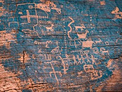 Valley of Fire Petroglyph (RWShea Photography) Tags: valleyoffire petroglyph rockart