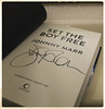 308/366 - The boy with the thorn in his side (efsb) Tags: 308366 project365 project366 2016inphotos 2016yip thesmiths johnnymarr autograph book autobiography