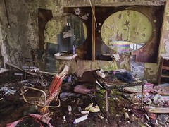 Barber Shop Hairdresser- Pripyat (Chernobyl Exclusion Zone)_5 - Copy (Landie_Man) Tags: none hair salon pripyat care haircare barber hairdressers disused derelict haircut cut pamper hairdo cutting scissors style radiation radioactive ionising sad abandoned closed community neighbourhood neighbours