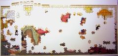 Catastrophe (Linda Jane Smith) - the beginning (Leonisha) Tags: puzzle jigsawpuzzle unfinished