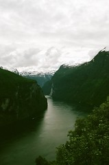 Geirangerfjord (IggyRox) Tags: norway norge scandinavia europe north geiranger geirangerfjord fjord above water view sky clouds mountains beauty moreogromsdal film 35mm sunnmore stranda mollsbygda ornevegen