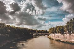 _DSC5476-Modifica (syderianus) Tags: ponte sisto bridge tevere fiume river rome roma nikond800 giorno esterno panorama nuvole clouds