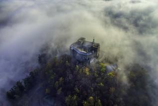 Castle in clouds