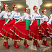 Ukrainian folk dancers