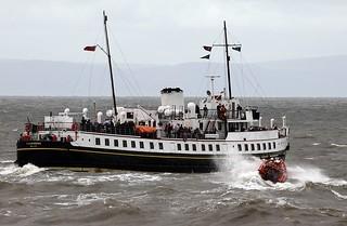 Atlantic 85 and MV Balmoral