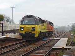 70808 Liskeard (7) (Marky7890) Tags: colasrail class70 70808 6c36 liskeard cornwall train railway
