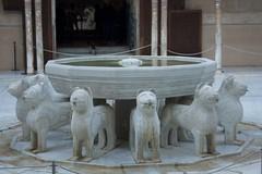 Fuente del patio de los leones en la Alhambra (lamimesis) Tags: granada alambra generalice