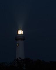 Saint Simons Island GA Lighthouse-036 (VinceFL) Tags: brunswickga fisheye fullmoon lighthouse luna lunar manfrottotripod moon nature nikond7100 nikonmll3 outdoors saintsimonsislandga sky southern sunset tamron70300mmf456dild12autofocusmacro vincefl