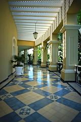 lattice (Siiri Gael) Tags: mexico mazatlan lattice outdoors yellow color vacation tile reflection