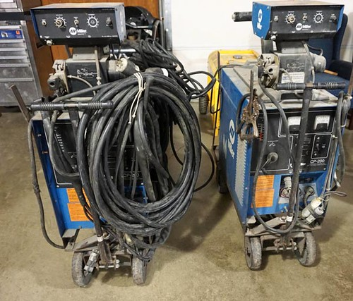 Miller CP200 Wire Feed Welders ($392.00, $224.00)