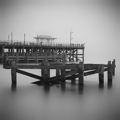 Lovely Swanage (wolffslicht) Tags: swanage gb england bw sw bn longtimeexposure outdoor fineart