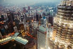 Good night KL (Éole) Tags: kualalumpur malaysia sunset petronas