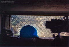Blue Helmets in Lebanon (Normann Photography) Tags: 1992 425 fntjeneste forsvaret kontigent29 lebanon libanon peacecorps unservice unifil unitednations unitednationsinterimforceinlebanon xxix contigent29 contigentxxix market peacekeepers