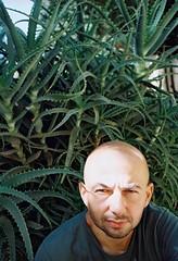 piotr. offside2016. jerusalem. (Yaroslav F.) Tags: analog portrait aloe 35mm light beauty sun palestine israel jerusalem yaroslav futymskyi artist kodak film 200 zuiko olympus om