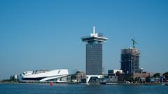 Amsterdam-Noord (photosam) Tags: fujifilm xe1 fujifilmx prime raw lightroom xf35mm114r xf35mmf14r riverside waterside amstel architecture modernist amsterdam noordholland netherlands widescreen 169 harbour