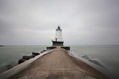 (Martin_Francis) Tags: michigan lighthouse pier lakemichigan luddington