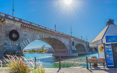 London Bridge in Havasu City (Mrinmoy Saha) Tags: london bridge havasu city lake water river pond reflection stream wet flow ocean architecture urban urbanite cityscape desert downtown landmark town blue sky day sun sunny nikon d52000 dslr panaromic tall wide nature landscape manual earth top bright dim shadow light around view look travel happy life lively adventure globe world lonely peace peaceful calm quiet moment sharp clear soft beautiful capture red green color colors vivid vibrant legend